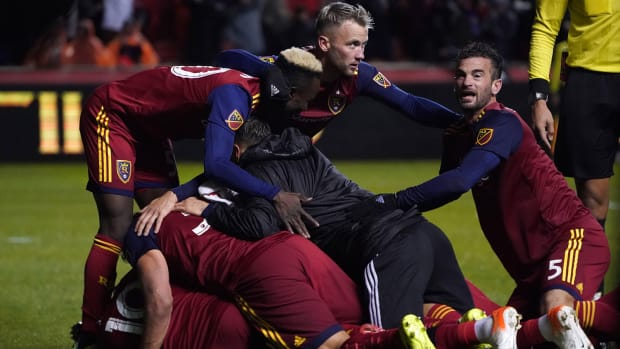 Real Salt Lake is going through in the MLS playoffs