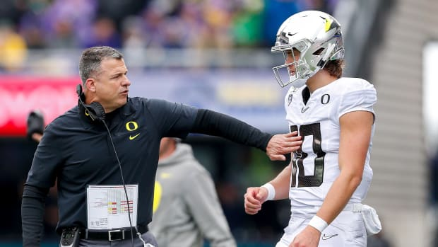 Oregon football Justin Hebert Mario Cristobal