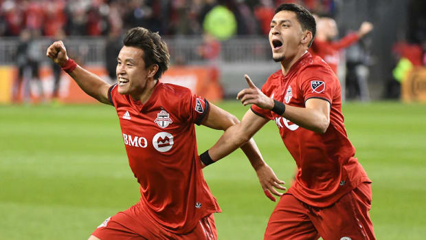 Toronto FC ousts DC United from the MLS playoffs