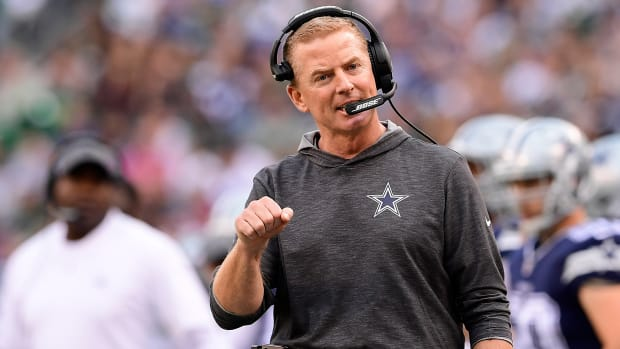 Cowboys coach Jason Garrett on the hot seat