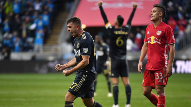 Philadelphia Union oust New York Red Bulls from MLS playoffs