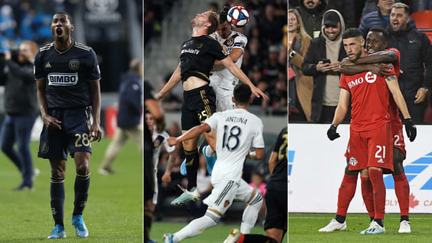 The Philadelphia Union, LA Galaxy and Toronto FC all won MLS playoff games