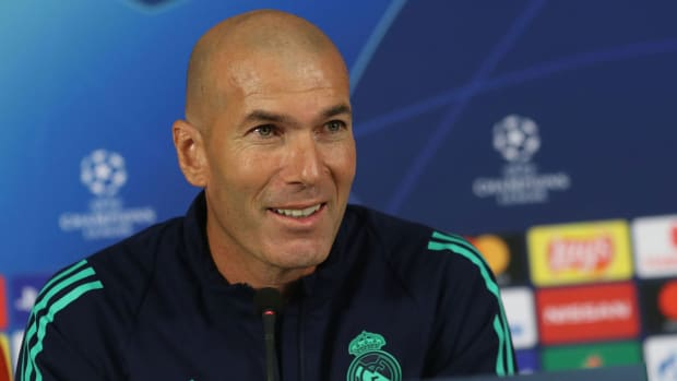 Zinedine Zidane is under pressure at Real Madrid