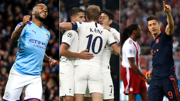 Man City, Tottenham and Bayern Munich all win in Champions League
