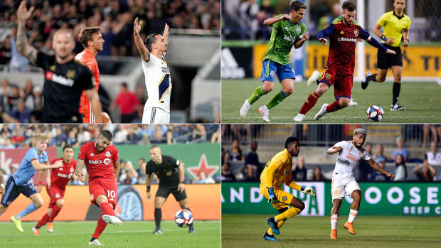 MLS's conference semifinal matchups