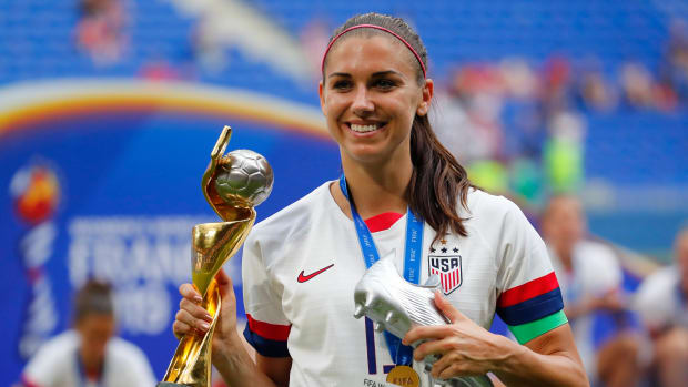 USWNT's Alex Morgan at the Women's World Cup