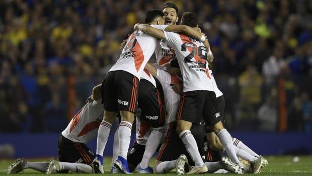 River Plate returns to the Copa Libertadores final