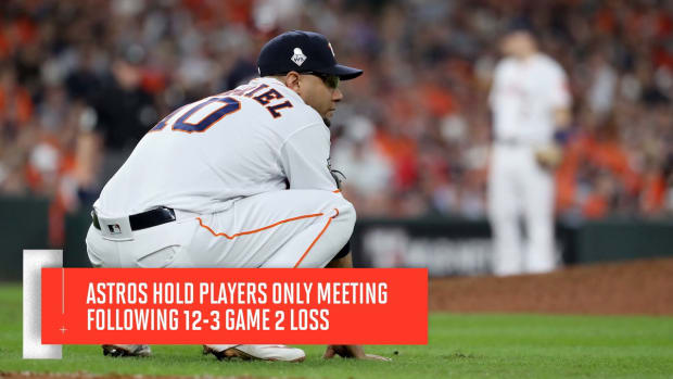 Assessing Astros Mentality Facing 2-0 World Series Deficit