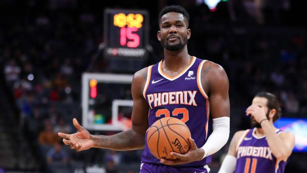 DeAndre Ayton suspended 25 games for violation NBA drug policy