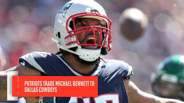 Patriots Trade Disgruntled Michael Bennett to Cowboys