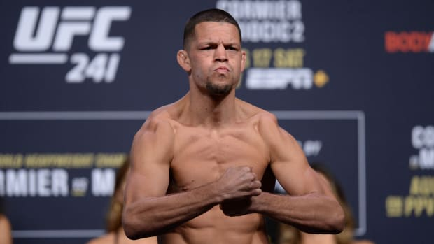 Nate Diaz cleared to fight in UFC 244 after announcing failed drug test.