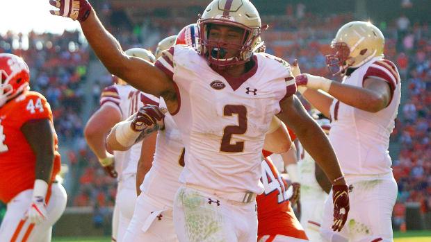 aj 1st touchdown