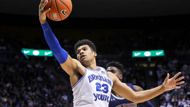 BYU basketball Yoeli Childs