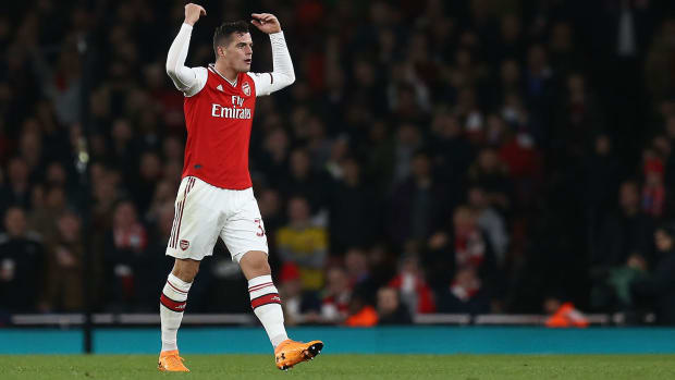 Granit Xhaka is in hot water at Arsenal