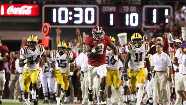Julio Jones scores a back-breaking touchdown against LSU