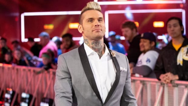 WWE's Corey Graves on Raw