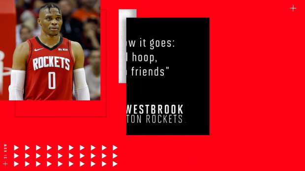 Russell Westbrook's 'No Friends' Attitude What Rockets Need