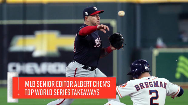 ALBERT CHEN WORLD SERIES TAKEAWAYS