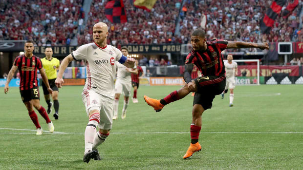 Atlanta United faces Toronto FC in the MLS playoffs