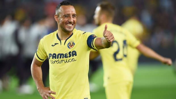 Santi Cazorla is rejuvenated at Villarreal