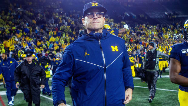 Jim harbaugh to honor scholarship of michigan recruit