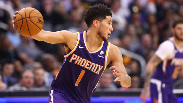 NBA DFS: Devin Booker October 30