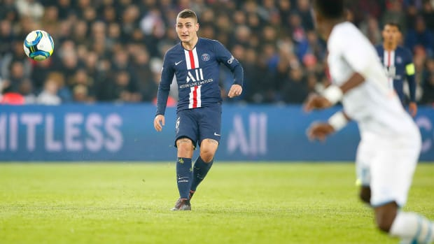 Marco Verratti has signed with PSG through 2024