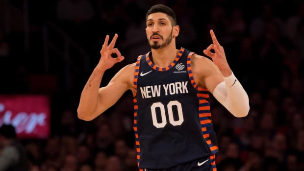 Enes Kanter on Knicks' trip to London: 'I Can Get Killed Very Easy'--IMAGE