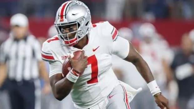 Ohio State Quarterback Dwayne Haskins Jr. Declares For NFL Draft--IMAGE
