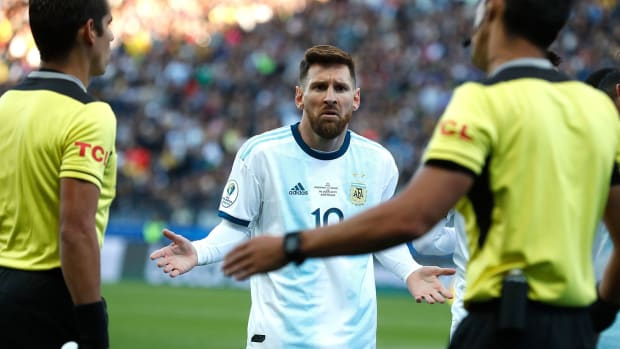 Lionel Messi is back for Argentina after serving a three-month ban