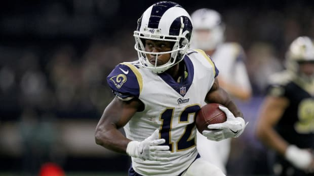 Rams' Brandin Cooks Presents Facility Employee With Super Bowl Tickets--IMAGE