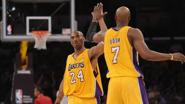 Lamar Odom Kobe Bryant Lakers