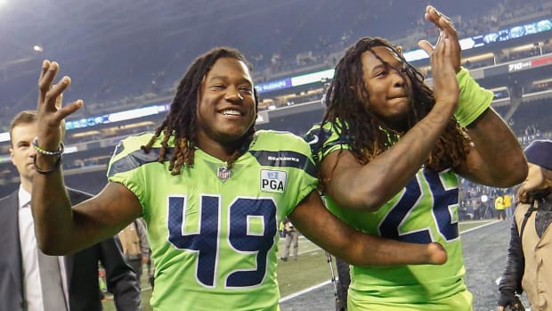 Seahawks Shaquem and Shaquill Griffin