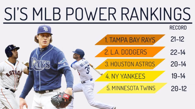 MLB Power Rankings: Rays No. 1, but Are They MLB's Best?