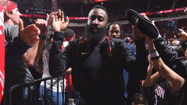 James Harden's Historic Season Continues--IMAGE