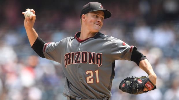 Arizona's Zack Greinke Traded To Houston For Prospects--IMAGE