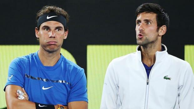 Novak Djokovic Rafael Nadal French Open