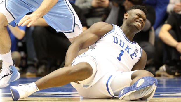 Could Zion Williamson Sue Nike for Shoe Malfunction-IMAGE