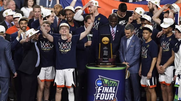 Virginia Knocks Off Texas Tech For First Ever NCAA Basketball Championship--IMAGE