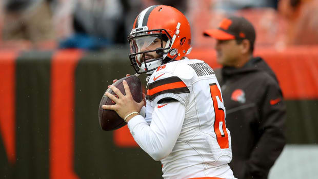 Baker Mayfield Browns Steelers 2019 NFL Win Totals