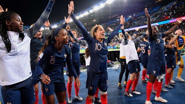 France Wins 2019 Women's World Cup Opening Game Against South Korea--IMAGE