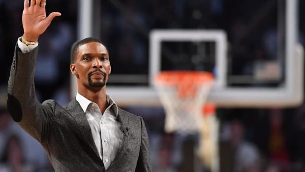 Miami Heat To Retire Chris Bosh's Jersey in March Ceremony--IMAGE