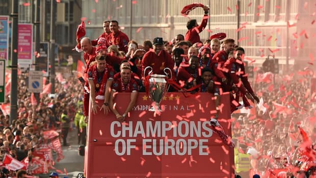 Liverpool Celebrates Sixth Champions League Title With Parade - IMAGE