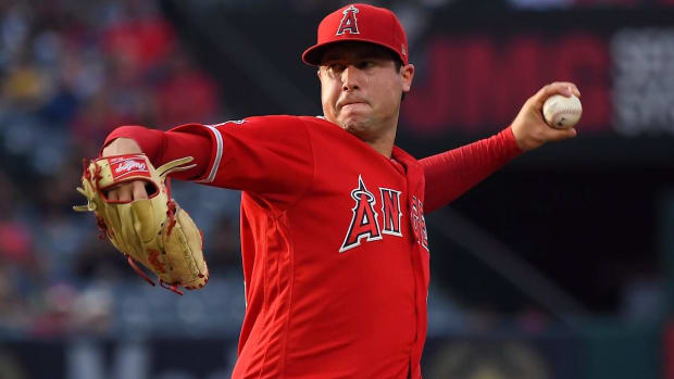 Angels Pitcher Tyler Skaggs Dies at Age 27--IMAGE