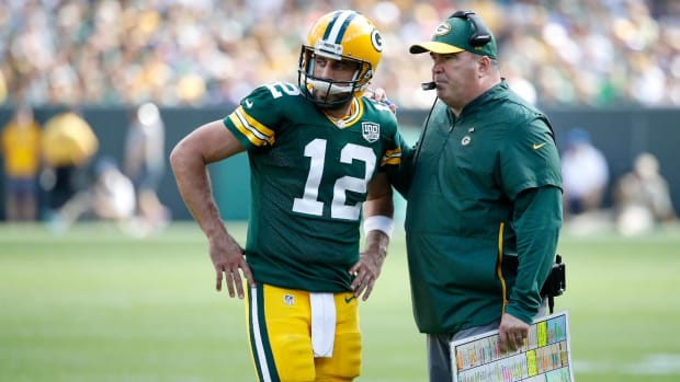 Report: Former Packers Coach Mike McCarthy and Aaron Rodgers' Issues Date Back to 2005 Draft - IMAGE