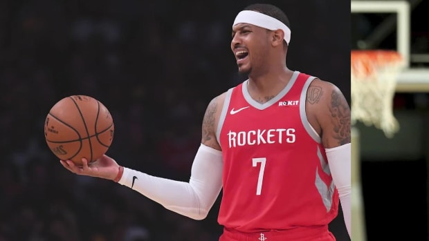 Report: Rockets Trade Carmelo Anthony to Bulls, Expected to be Released--IMAGE