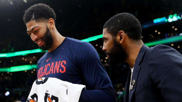 Anthony Davis Kyrie Irving Nets