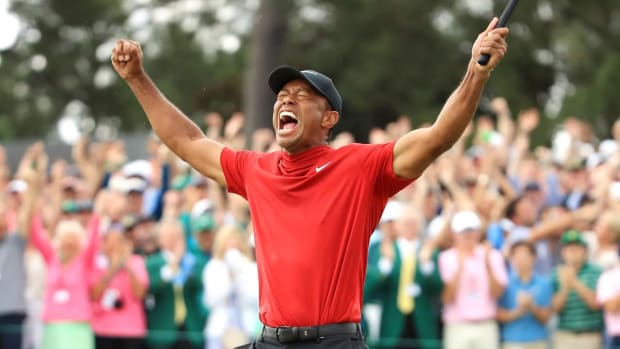 Tiger Woods Wins 2019 Masters for 15th Career Major--IMAGE