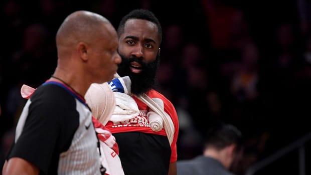 James Harden Refs NBA Rockets Lakers Chris Paul