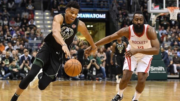 NBA MVP RACE: HARDEN VS. GIANNIS